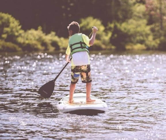 Learning to Paddle in Tors Cove Pond