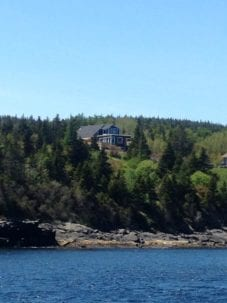 Whale House From the Ocean