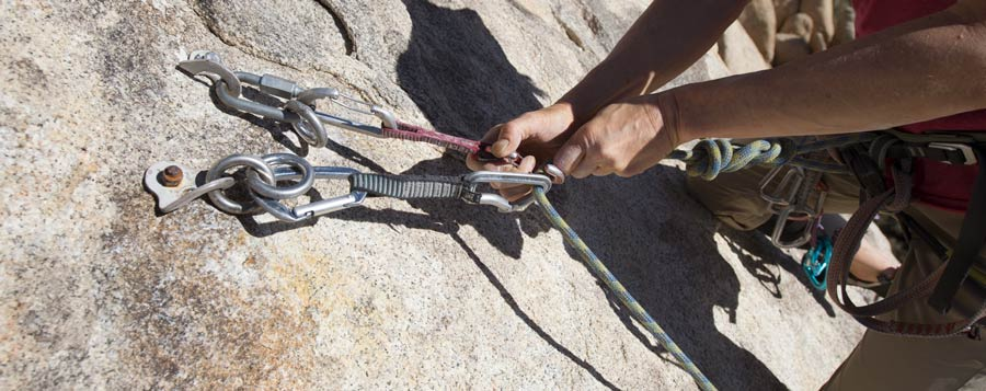 Bolted Rock Climbing Anchor